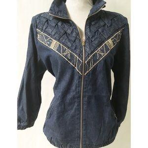 Vintage Jean Jacket Size Large